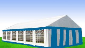 namiot magazynowy opole grell niebieski